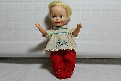 "Vintage 8"" Doll Blonde Hair!"