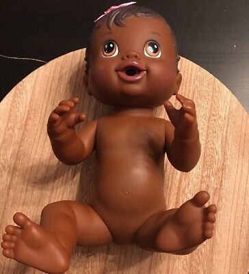 Baby Alive Baby All Better African American 2011 Molded Hair Brown Eyes