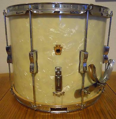 Antique Wfl Chicago Ludwig Marching Snare Drum With Original Heads And Snares