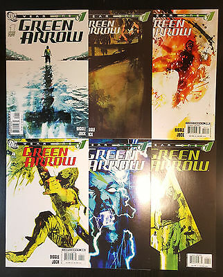 Green Arrow: Year One #1-6 (2007, DC) Complete Set 2 3 4 5 Diggle Jock Ollie