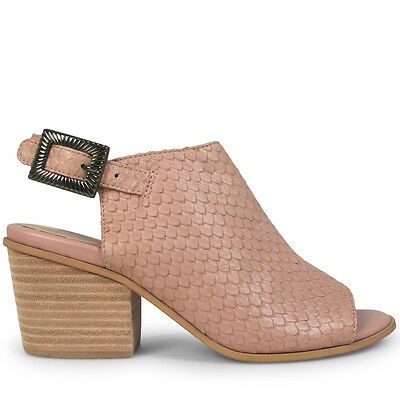 Wittner Ladies Shoes Pink Leather Heels