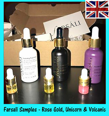 ✨Farsali 24K *UNICORN ESSENCE*Rose Gold Elixir*Volcanic Elixir 100% GENUINE UK*✨