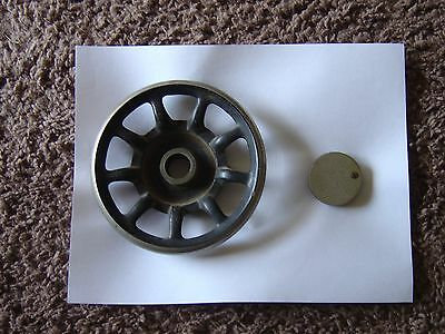 Antique Singer Sewing Machine 9 Spoke Hand Wheel  FROM 1920