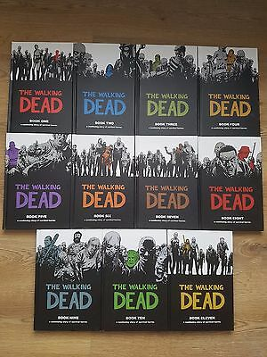 The Walking Dead: Book One to Book Eleven - Hardcover