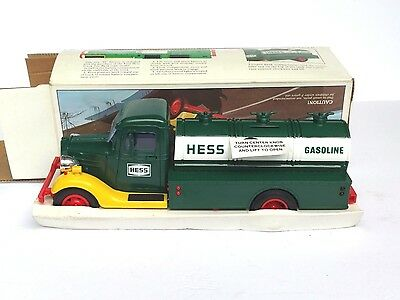 First Hess Toy Bank. Incredible condition! Read description.