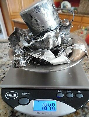 Sterling Silver Scrap LOT 184.8  Grams NOT Weighted ALL STERLING