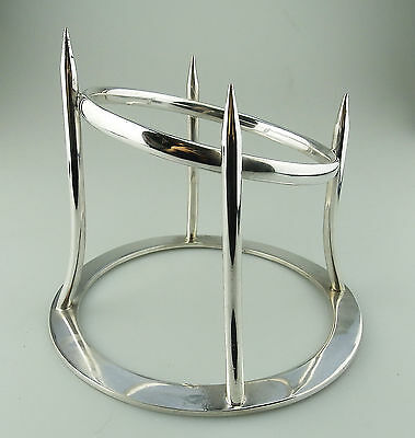 Antique Kitchenalia Silver Plate : A RARE Asprey Ham Stand C. early 20thC