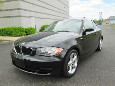 2009 BMW 1-Series 128i 2009 BMW 128i Coupe Low Miles Black on Black Loaded Sharp Car Must See