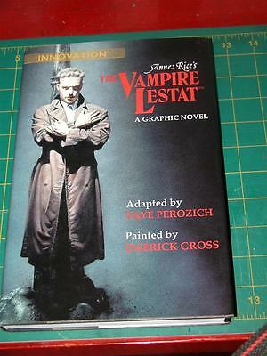 The Vampire Lestat Anne Rice 'Signed' 1st Edition Graphic Novel H/B