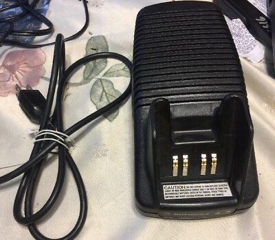 Genuine Motorola NTN7209A AA16740 Radio Battery Charger With Power Cord
