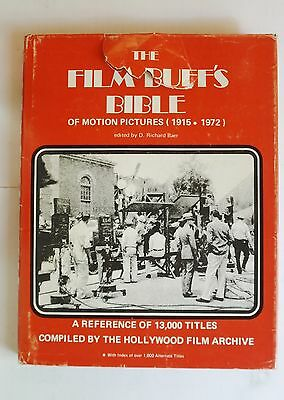 (O05) The film buff's bible of motion pictures (1915-1972) - Hardcover – 1972