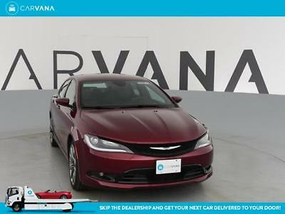 2015 Chrysler 200 Series 200 S Dk. Red 200 S3.6L V6 295hp 262ft. lbs.9-Speed Shiftable Automatic