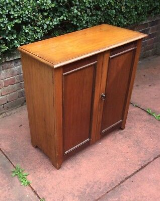 Edwardian Mahogany Fitted Shoe Cupboard