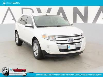 2014 Ford Edge Edge SEL Off white 2014 Edge with 50131 Miles for sale at Carvana