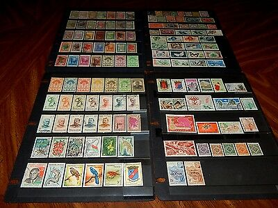 Madagascar stamps - BIG lot of 131 mint hinged & used early stamps - super !!