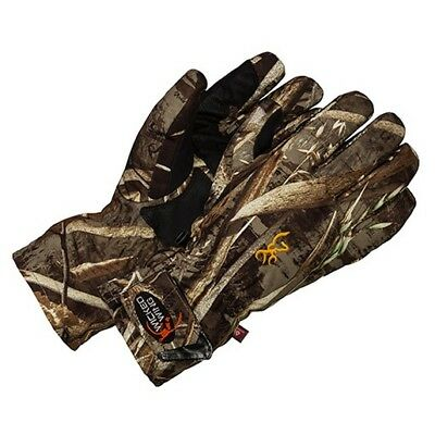 Browning 3073027604 Men's Mossy Oak Shadow Grass Wicked Wing Gloves X-large
