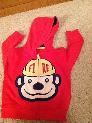 BNWOT Baby Boys Hoodie By Marks and Spencer Age 3-6 Months