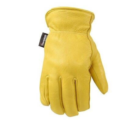 Wells Lamont 981L ComfortHyde Men's Full Grain Leather Glove Large