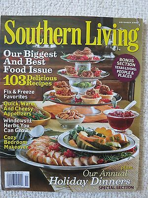 Southern Living Magazine November 2008 Holiday Dinners