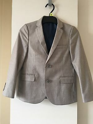 Signature Next Junior Boys Light Grey Suit Jacket Age 7 Years