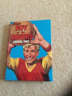 Tiger Roy Of The Rovers Football Annual 1965