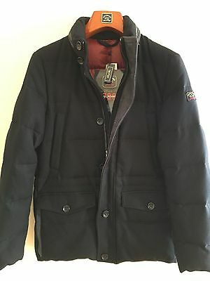 NEW Paul & Shark Man  Uomo Giacca Jacket  M L Fill Power 700 Leather