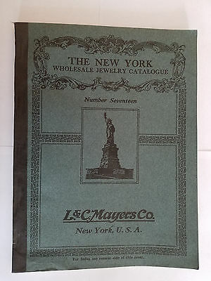 Vintage 1916 L&C Mayers Co. Wholesale Jewelry Catalogue