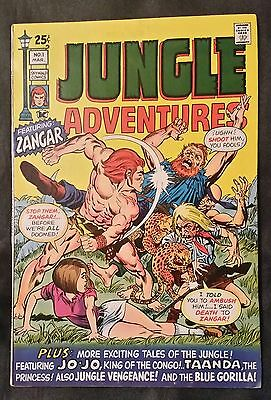Jungle Adventures # 1 - Skywald Comics - March 1971