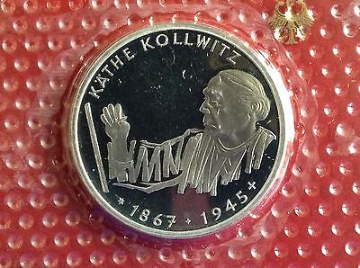 1992 G  Germany 10 Mark Silver Proof Coin