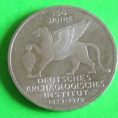 1979 J Germany 5 Mark Silver Coin