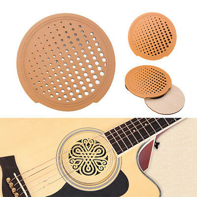 [NEW] Acoustic Guitar Feedback Buster Hollow Wood Sound Buffer Hole Protector Co