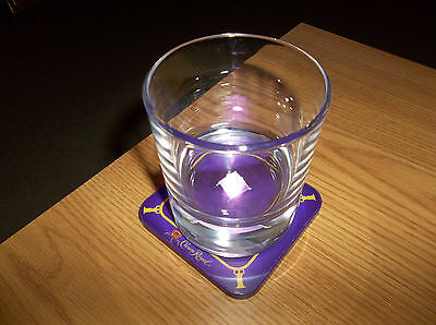 Crown Royal 3D Glass With Light Up Coaster --Limited Edition