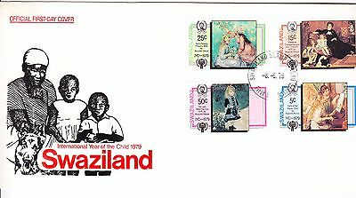 Swaziland 1979 - Year of the Child  First Day Cover. - . Unaddressed