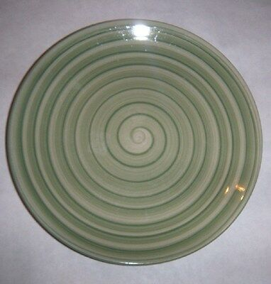 """Swirl Handpainted Collection Plate 8 1/4"""""""
