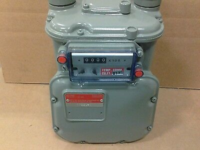 American Meter house gas meter AC-250, MAOP 5psi temperature compensated