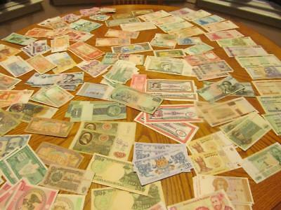 190 Pcs. World Currency Dealer / Collector Lot # 20 ;trillions In Amount!!!!!!!!