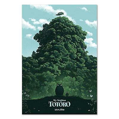 My Neighbor Totoro Poster - Studio Ghibli Anime Art - High Quality Prints