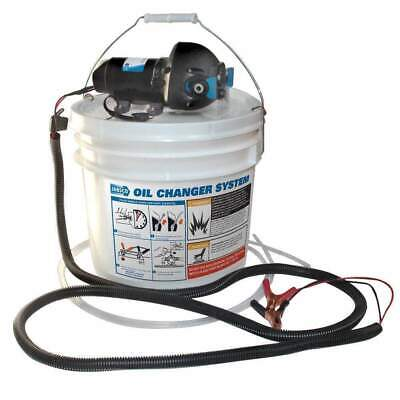 Jabsco DIY Oil Change System with Pump and 3.5 Gall Bucket #17850-1012