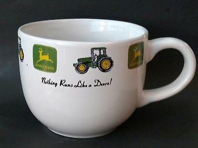 Licensed John Deere Oversize Large Soup Coffee Cup Mug by Gibson