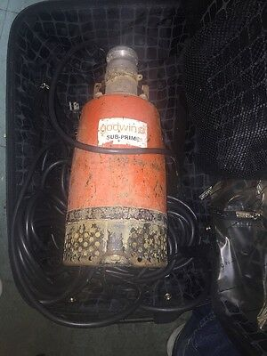 Used Godwin Sub Prime Submersible Trash Pump GSP-10