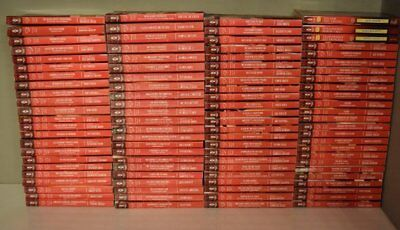 HUGE Lot (97) HARLEQUIN DESIRE RED BINDER Romance Books SERIES