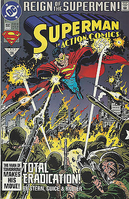 SUPERMAN 1993 DC Comics Reign of The Supermen #690 Aug '93 No. 24 LOT OF TWO