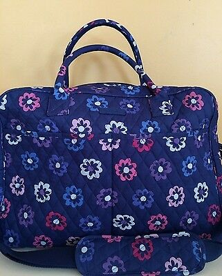 NWT Vera Bradley WEEKENDER IN ELLIE FLOWERS LARGE Travel BAG