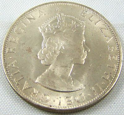 1964 Bermuda Crown Km# 14 Silver  Uncirculated  Low Mintage -  470,000