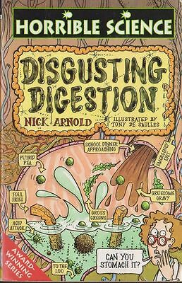 Horrible Science: Disgusting Digestion by Nick Arnold (Paperback)