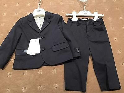 Armani Baby Boys 2 Piece Suit Suit  Size 12 Months / 1 Year Old    New With Tags