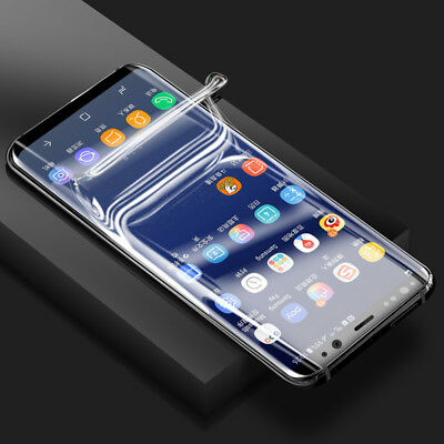 TPU Screen Protector Film For Samsung Galaxy S6 S7 edge S8 S9 S10 Plus Note 9 8