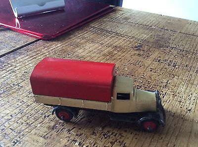 1940's Dinky No 25B Covered Wagon .All Original Condition