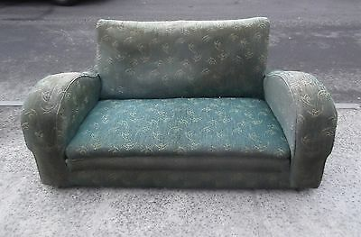 2 Seater Art Deco Sofa / Settee For Reupholstery      Delivery Available