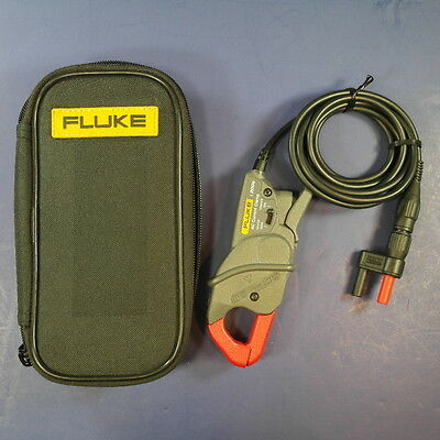 New Fluke i200s AC Current Clamp with PM9081 Banan Jack Adapter, Soft Case